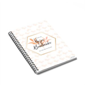 Mujer Bendecida Spiral Notebook – Ruled Line