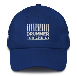 Worship Drummer Cotton Cap