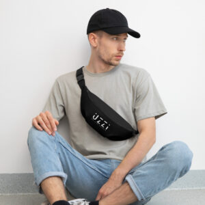 The UZZI Black Fanny Pack